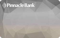 picture of Pinnacle Bank credit card design